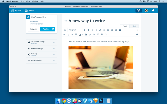 Wordpress App on Mac