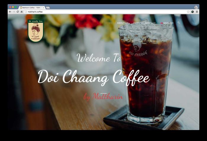 [Portfolio] Mattharin.Coffee